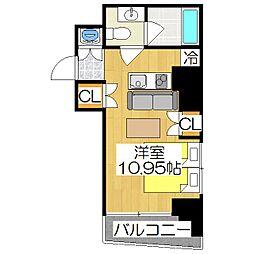 Coto Glance鴨川別邸[2階]の間取り