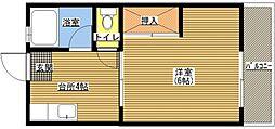 メゾン松香[402号室]の間取り