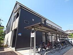 大阪府大東市太子田1丁目の賃貸アパートの外観