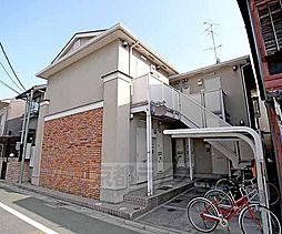京都府京都市北区紫野西御所田町の賃貸アパートの外観