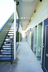 福岡県福岡市博多区西月隈5丁目の賃貸アパートの外観