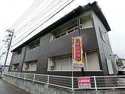 埼玉県草加市青柳6丁目の賃貸アパートの外観