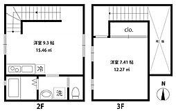 [テラスハウス] 東京都豊島区西池袋2丁目 の賃貸【/】の間取り