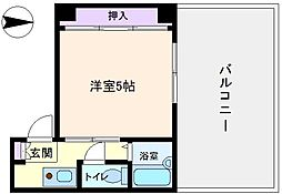 長居TSマンション[5階]の間取り