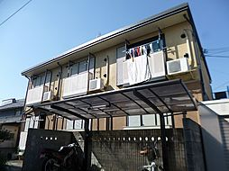 大阪府南河内郡河南町大字東山の賃貸アパートの外観