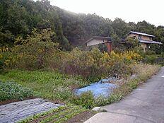 山に囲まれた自然豊かな環境です。