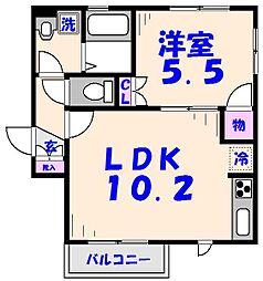 Maison A[1階]の間取り