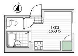 クラッセ練馬III[2階]の間取り