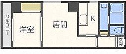 Space北三条[10階]の間取り