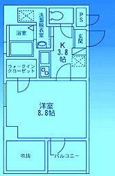 MYME[2階]の間取り