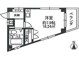 ベルシオン国分寺[2階]の間取り