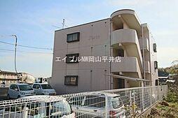 岡山県玉野市田井4丁目の賃貸マンションの外観
