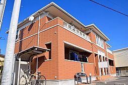 愛知県名古屋市緑区四本木の賃貸アパートの外観