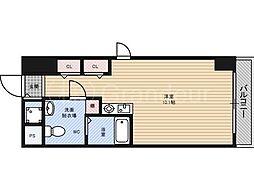エルベ都島[5階]の間取り