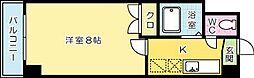 ビブレ江南[804号室]の間取り