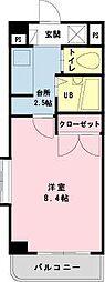 千葉県浦安市当代島3丁目の賃貸マンションの間取り