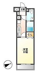 プレサンスmiu新栄[14階]の間取り