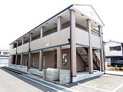 大阪府貝塚市半田2丁目の賃貸アパートの外観