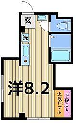 ブライト[2階]の間取り