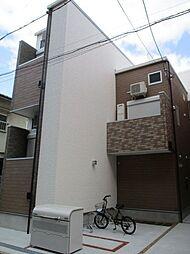 大阪府大阪市東住吉区駒川5丁目の賃貸アパートの外観