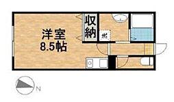 湘南サンライズガーデンIII A棟[101号室]の間取り