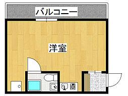 レバンガ桜川アパートメント[6階]の間取り