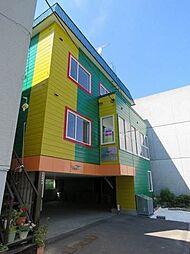 北海道札幌市東区北十一条東11丁目の賃貸アパートの外観