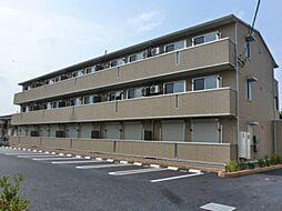 埼玉県熊谷市広瀬の賃貸アパートの外観