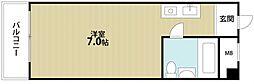 新深江橋ハイツ[1階]の間取り