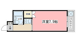 Passage I[302号室]の間取り