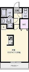サーチメゾン2[1階]の間取り