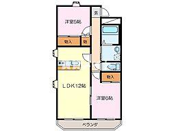 MO−VII[4階]の間取り