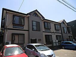 新潟県新潟市中央区天神尾2丁目の賃貸アパートの外観