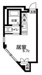 オープンゲート武蔵関[1階]の間取り