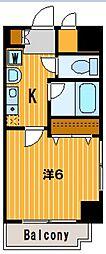 神奈川県横浜市南区通町3丁目の賃貸マンションの間取り