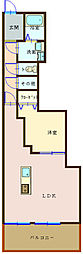 広島県呉市三条2丁目の賃貸マンションの間取り