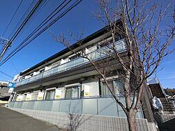 千葉県富里市日吉台3丁目の賃貸アパートの外観
