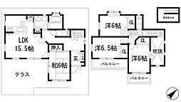 [一戸建] 兵庫県川西市清和台東4丁目 の賃貸【/】の間取り