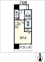 Atrio鶴舞[14階]の間取り