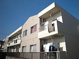 東京都日野市神明1丁目の賃貸マンションの外観
