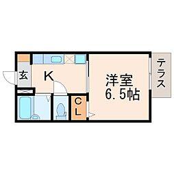 Step夙川[1階]の間取り