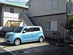 東京都江戸川区北篠崎2丁目の賃貸アパートの外観