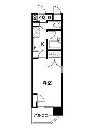 メゾン・ド・エグレット[7階]の間取り