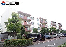 三日月住宅4号棟301号室[2階]の外観