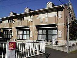 埼玉県川越市中台1丁目の賃貸アパートの外観