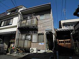 京都府京都市北区小山東大野町の賃貸アパートの外観