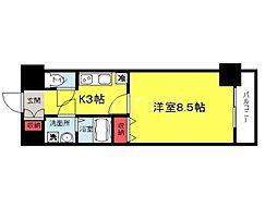 TKアンバーコート堺東II[2階]の間取り