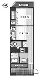 第7高橋ビル bt[210kk号室]の間取り
