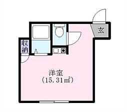 クレインヒルズ[2階]の間取り