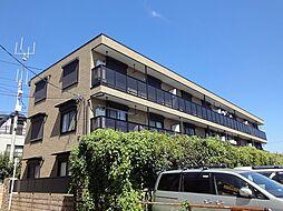 東京都東村山市美住町2丁目の賃貸アパートの外観